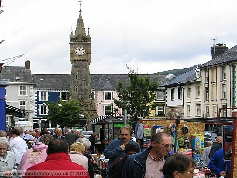 Enlarged picture of Market Day Machynlleth